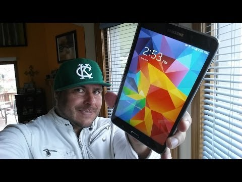 Samsung Galaxy Tab 4 7.0 REVIEW Espanol 2014