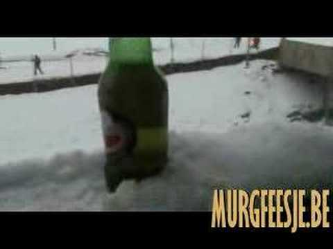 How To Freeze Beer in 30 seconds