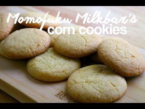 How to Make Corn Cookies (Momofuku Milkbar Recipe)