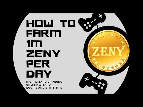RAGNAROK ONLINE MOBILE : HOW TO FARM 1 ZENY PER DAY WITH THIS TRICK! | EARN FASTER |