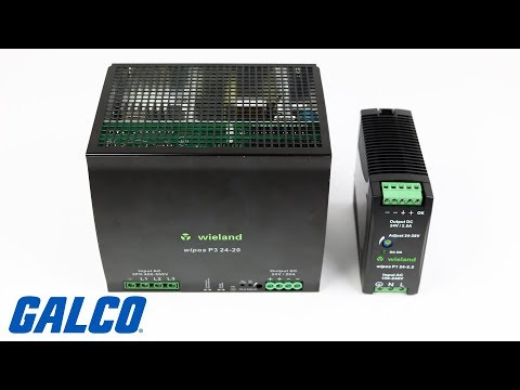 Wieland's Wipos Series Switching Power Supplies