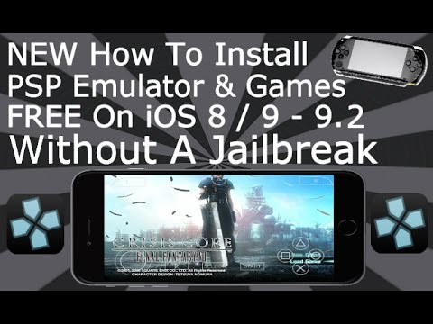 Install PSP & Games FREE On iOS 11 - 11.4 / 10 / 9 NO Jailbreak iPhone, iPad, iPod Touch PPSSPP