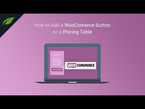 How to Add a WooCommerce Button on a Pricing Table