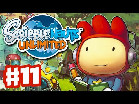 Scribblenauts Unlimited - Gameplay Walkthrough Part 11 - The Metaforest (PC, Wii U, 3DS)