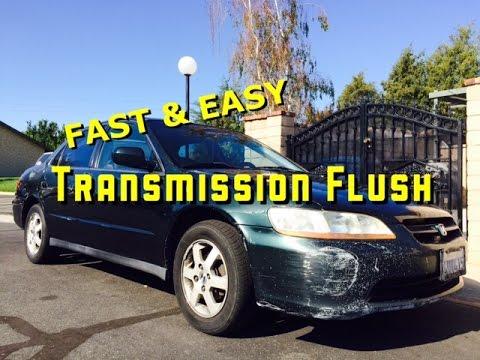 98   02 | Honda Accord | F22 F23 | 4 CYL | Automatic Transmission Flush