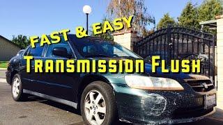 Honda Automatic Transmission Fluid Change (1998-2002 Accord