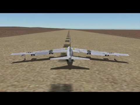 B-52 Bomber Takeoff