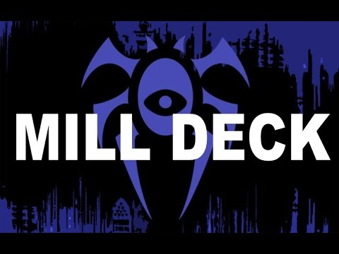 Magic the Gathering Blue Black Mill Deck Build