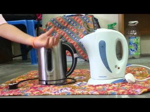 metal kettle vs plastic kettle