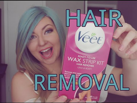 Summer Ready Skin Part 2 | Hair Removal Veet Wax Strips
