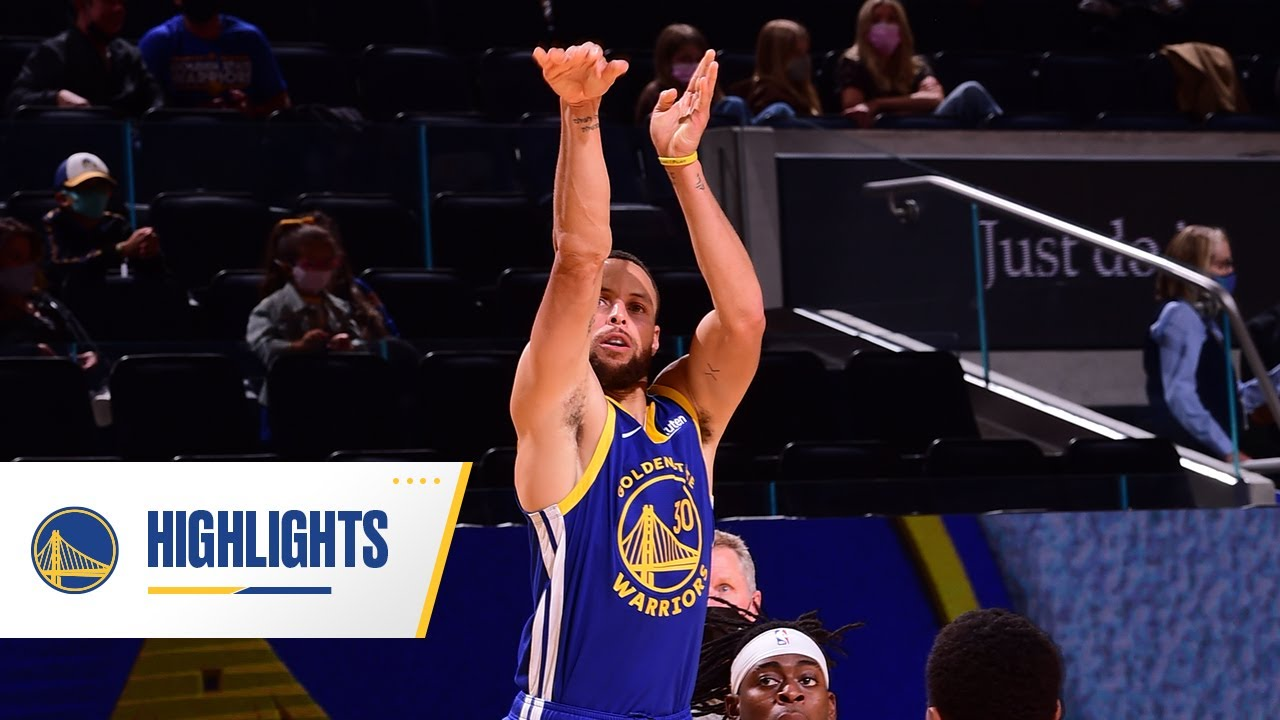 Warriors Knock Down FRANCHISE-RECORD 27 Threes! | May 8, 2021