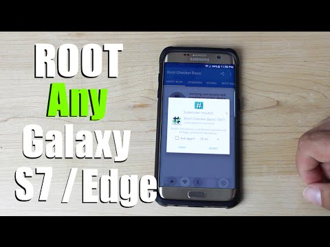 How To ROOT Any Galaxy S7 / S7 Edge Verizon, AT&T, T-Mobile