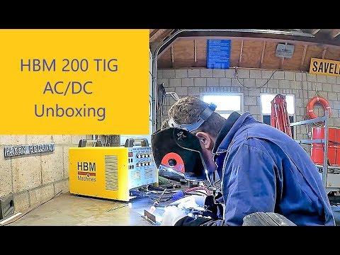 HBM TIG 200 AC/DC Unboxing en eerste indruk !!!