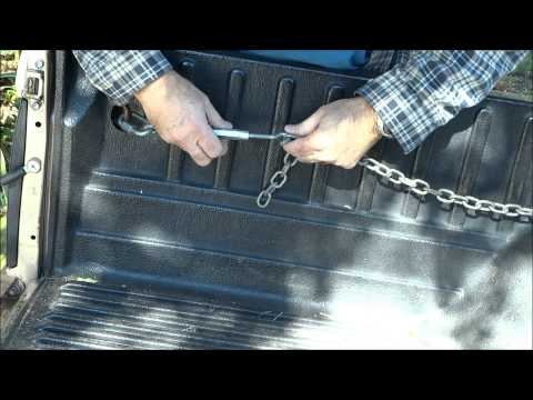 How to Make Multiple Tie Points For Hauling in Pick up Truck Bed