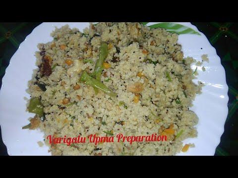 Varigalu Upma l Variga Upma l Proso Millet Upma Preparation in Telugu