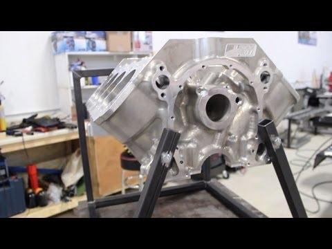 MIG Welding an Engine Cradle at Eliminator Kustoms