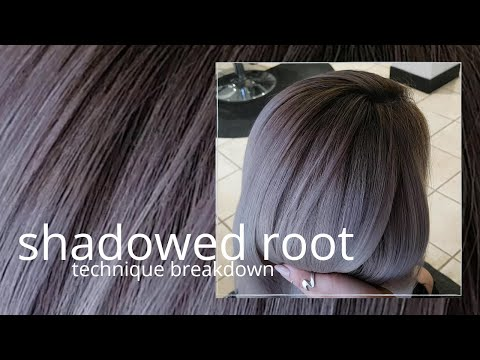 how to do SHADOWED ROOTS