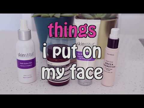 things i put on my face / everyday makeup