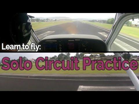 RECREATIONAL PILOT CERTIFICATE:  Flying Lesson #16  Solo Circuit Practice | Jabiru
