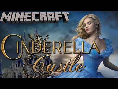 Cinderella Castle - Minecraft Let's Build (Full Disney Castle Build)