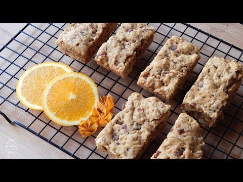 Orange Breakfast Bars Recipe | The Sweetest Journey