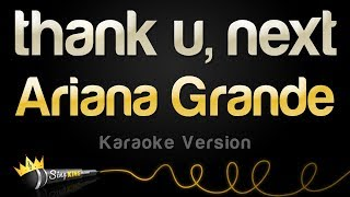 Ariana Grande  Thank U Next Karaoke Version