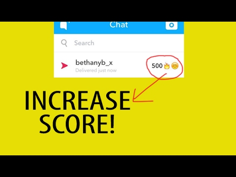 A simple trick to Increase your SNAPCHAT Score- STREAKS