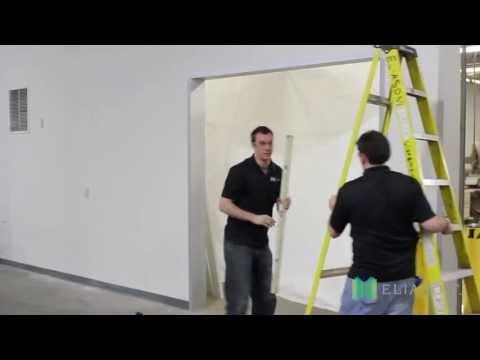 How to install an Eliason Sliding Cooler Door
