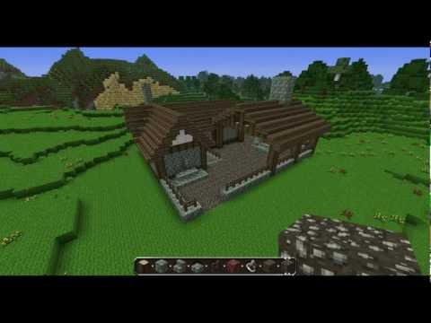 Minecraft - Medieval blacksmith tutorial - Commentary