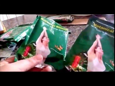 Botanical Slimming 100% Natural Autentico - NOVIDADES!!! comparando o falso e o verdadeiro