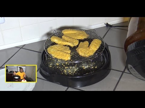 Air Fried Tilapia NuWave Oven Recipe
