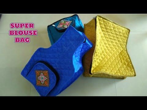 Super Blouse Bag Make At Home Diy how to make blouse box in hinsi  2018