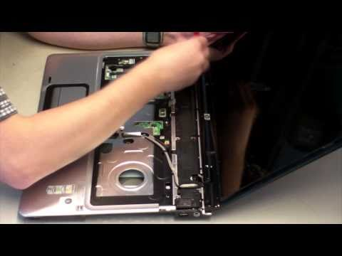 HP DV9000 Disassembly / Motherboard Replacement