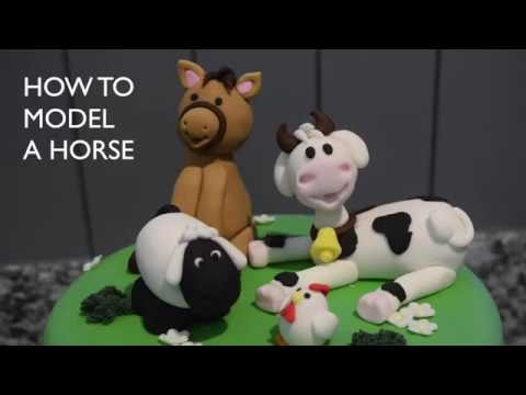 How to model a horse with icing