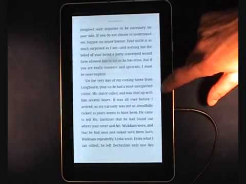 Accessible Version of CoolReader vs. the Kindle