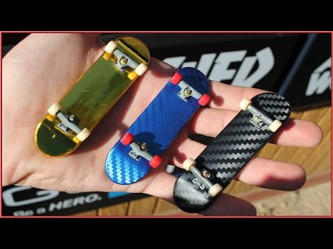 How To Customize Your Tech Deck Tutorial