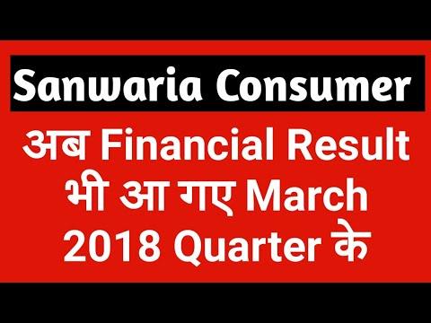 Sanwaria Consumer Ltd Result 2018 Analysis - What to do Next?