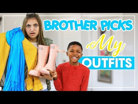 MY BROTHER PiCKS MY OUTFiTS   Kamri Noel