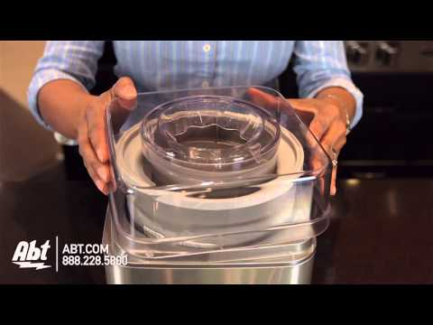 Cuisinart Frozen Yogurt and Ice Cream Maker ICE-30BC - Overview
