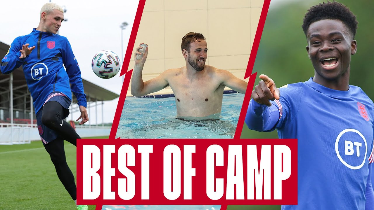Foden's Skill, Water Balloon Fight, Unreal Goals & Saka's Jokes 🔥  Best Of Group Stages | England