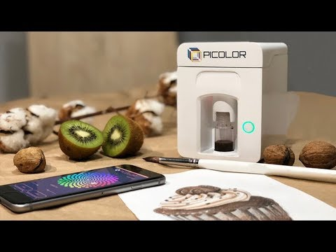 Picolor - Paint-mixing Gadget for Artists to get desired shades easily