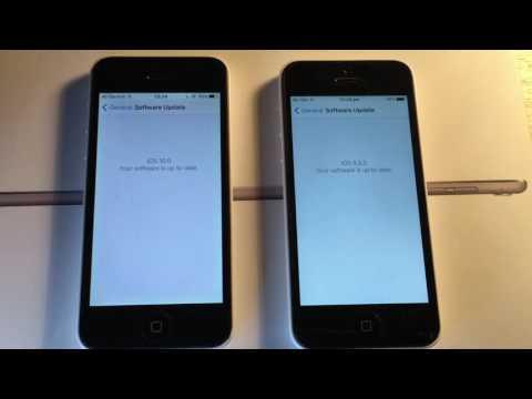 iOS 10 Beta 3/Public Beta 2 VS iOS 9.3.3 Beta 3 - iPhone 5 Speedtest - iPhone 5C iOS 9 VS 10