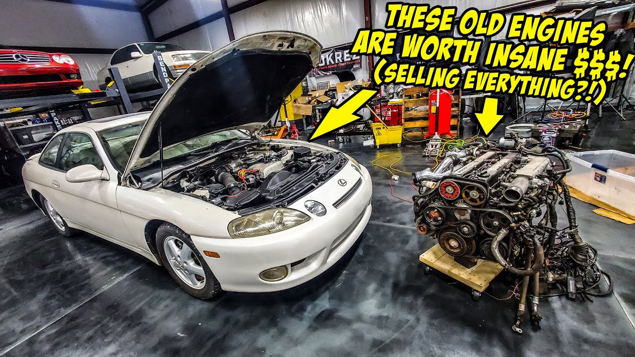 We Found Out How Much $$$ Our Old Engines Are Worth...So We Are Selling EVERYTHING! Who Wants Them?