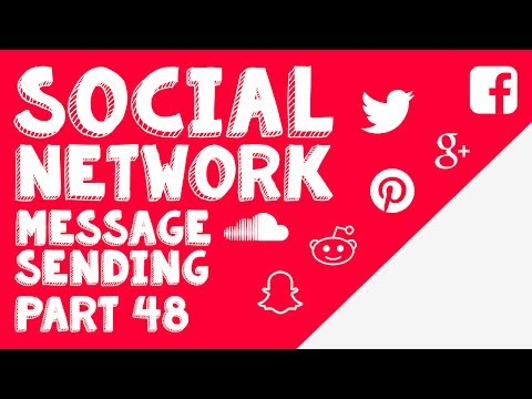 New Social Network - Part 48 - Sending Messages with Javascript