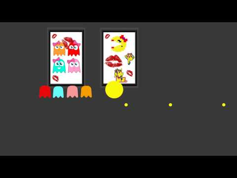 2D/3D Pac-Man Animation