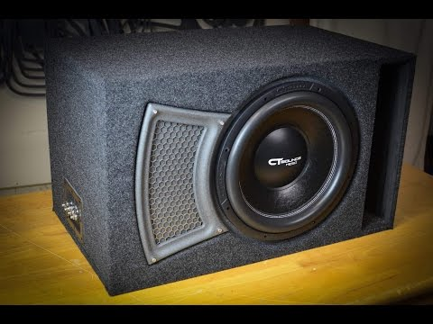 CT Sounds How To | Build a Subwoofer Box for a 15