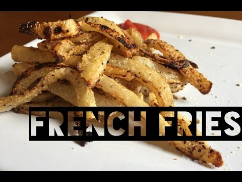 Healthy French Fries Recipe | How To Make Low Calorie Low Carb French Fries Using A Jicama