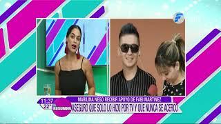Marilina con llantos enfrentó a Fabi Martínez   El Resumen