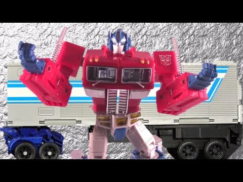 Masterpiece Optimus Prime Transformers Toy Review