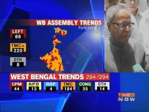People wanted TMC rule in West Bengal: Pranab